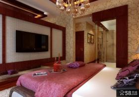 最新欧式卧室背景墙装修效果图