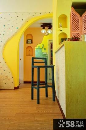 家装吧台设计效果图