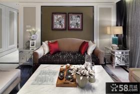 简欧风格客厅装修图片欣赏大全