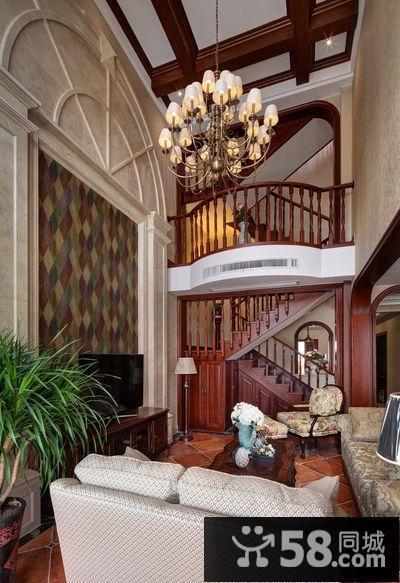 中式别墅装修客厅