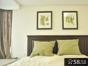 20平美式卧室装修效果图片