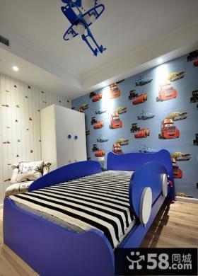 现代儿童房设计效果图欣赏