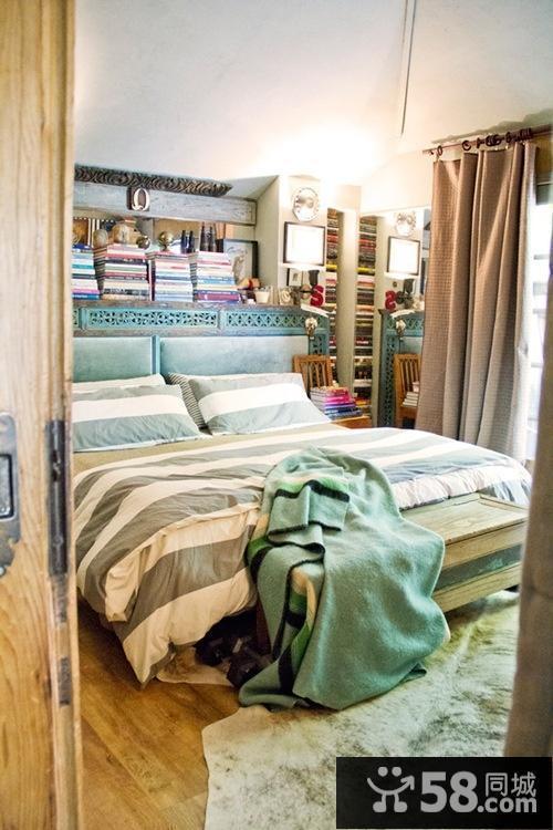 中式床头背景墙