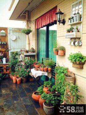 阳台菜园装修效果图