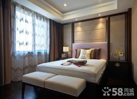 中式风格卧室创意装修设计图
