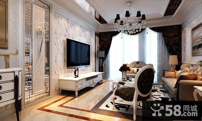 电视背景墙现代温馨