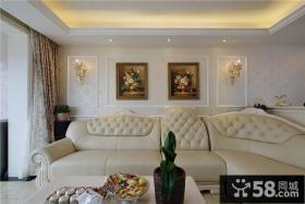 古典简欧客厅设计大全