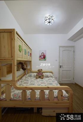 韩式田园居家儿童房装修图2014