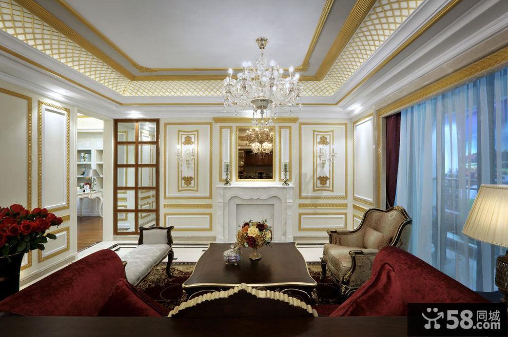 欧式客厅玄关装修效果图