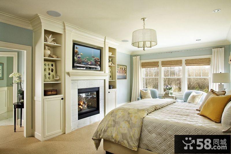 卧室水晶吊灯图片
