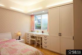 粉色女儿童房装修效果图2014