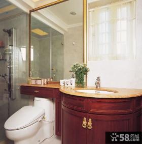 美式卫生间设计家装图片