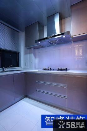 现代风格厨房装修设计图片2014
