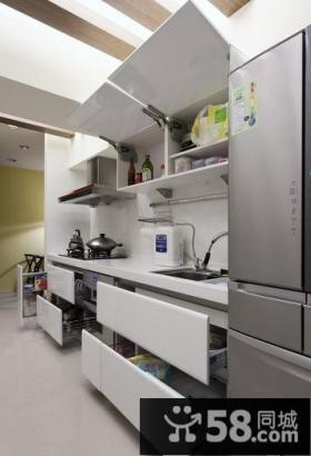 简约风格小两居厨房装修效果图