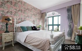 欧式田园风格家装卧室图大全