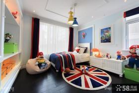 欧式现代儿童房装修效果图大全2012图片