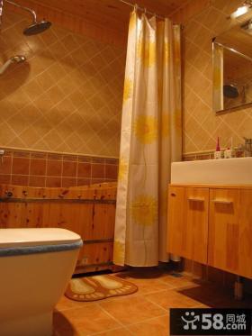 卫生间浴帘图片欣赏