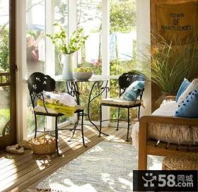 2013最新家庭阳台装修效果图欣赏