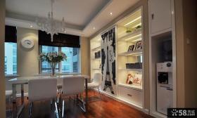 时尚家装室内墙面橱柜架图片