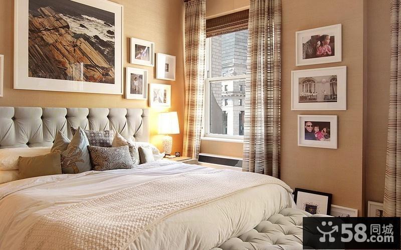 卧室电视墙壁纸效果图