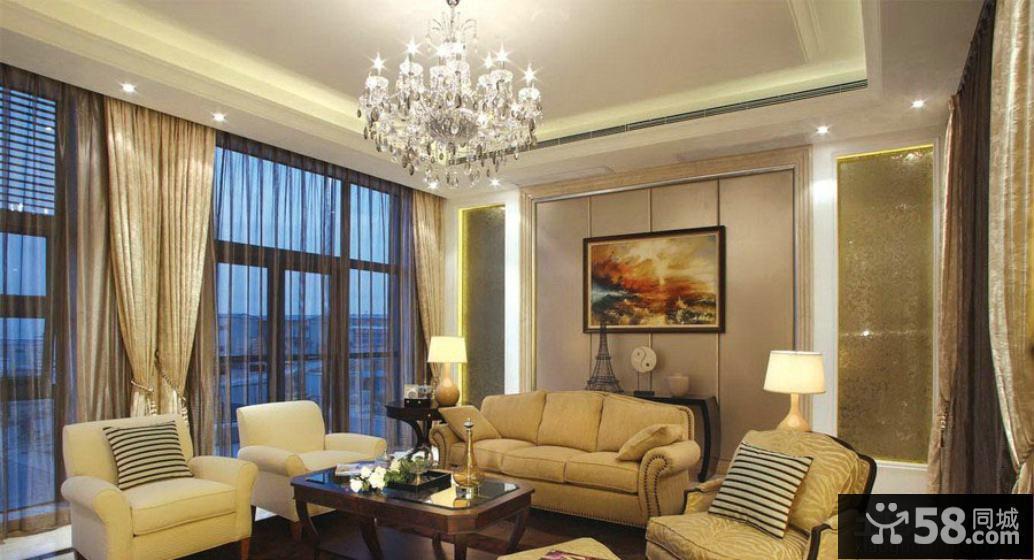现代客厅装修效果图欣赏大全