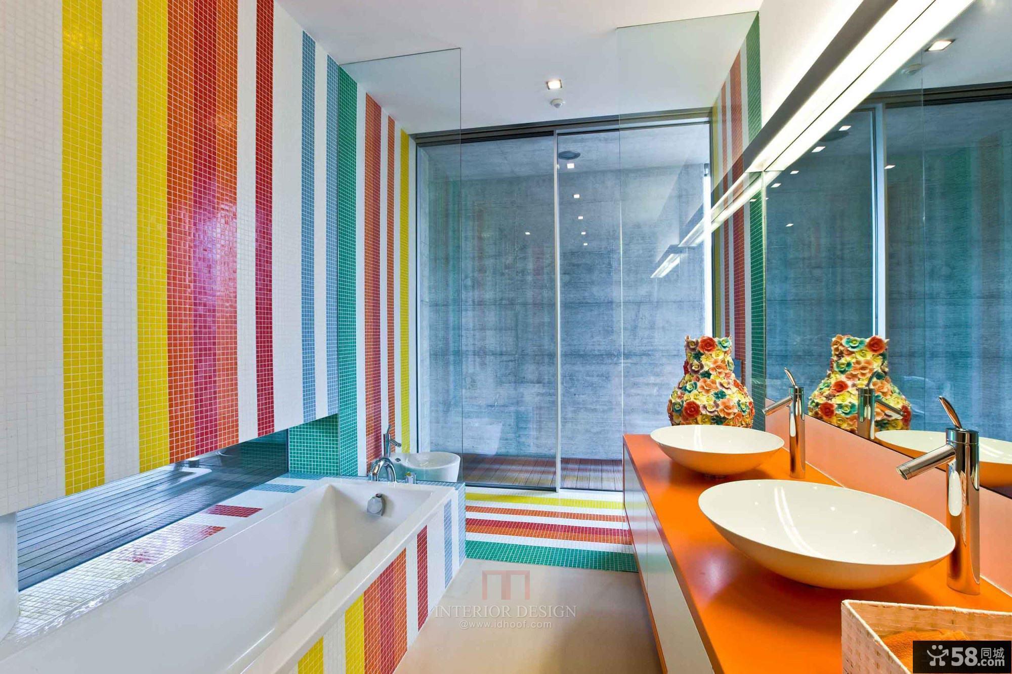 混搭家装风格卫生间设计效果图