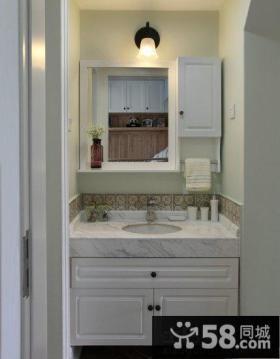 卫生间浴室柜装修效果图大全