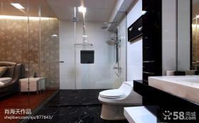 现代家装卫生间设计图片欣赏2014