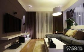 现代小户型客厅装修设计图片