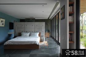 宜家风格灰色装修卧室效果图