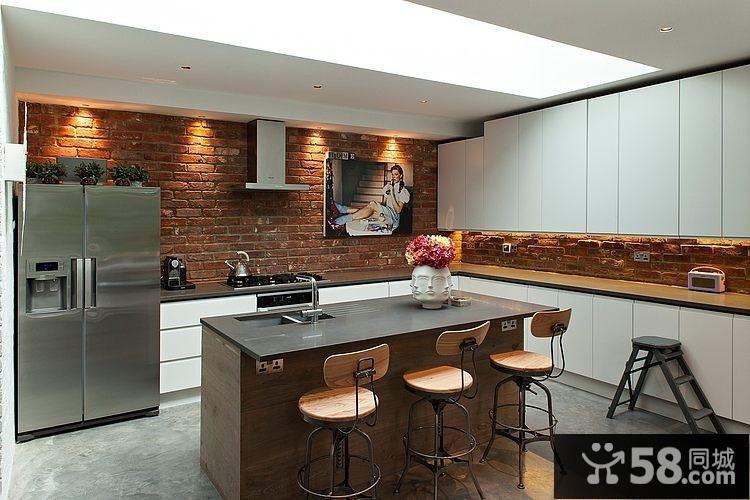 现代简约客厅电视墙背景效果图