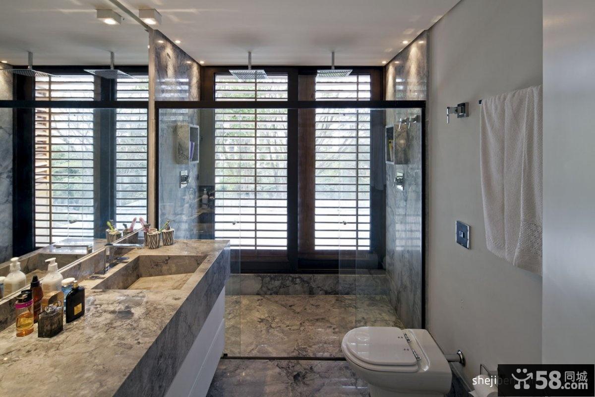 别墅卫生间装修效果图片