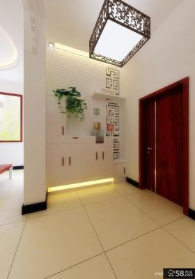 进门玄关装修效果图 四室两厅装修