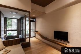简约日式小客厅设计