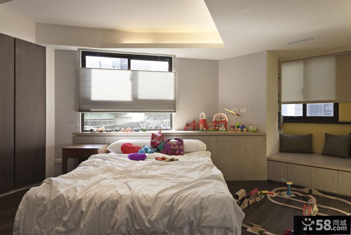 简约儿童卧室设计效果图大全2013图片