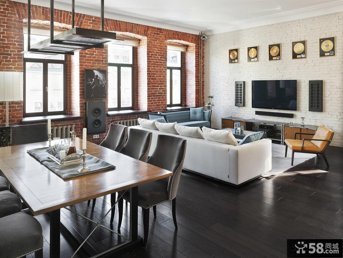 混搭风格公寓设计图片欣赏大全2014
