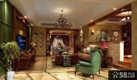 2013最新美式客厅装修效果图