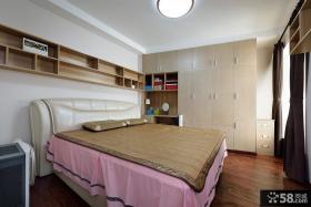 简单婚庆卧室装修设计效果图欣赏