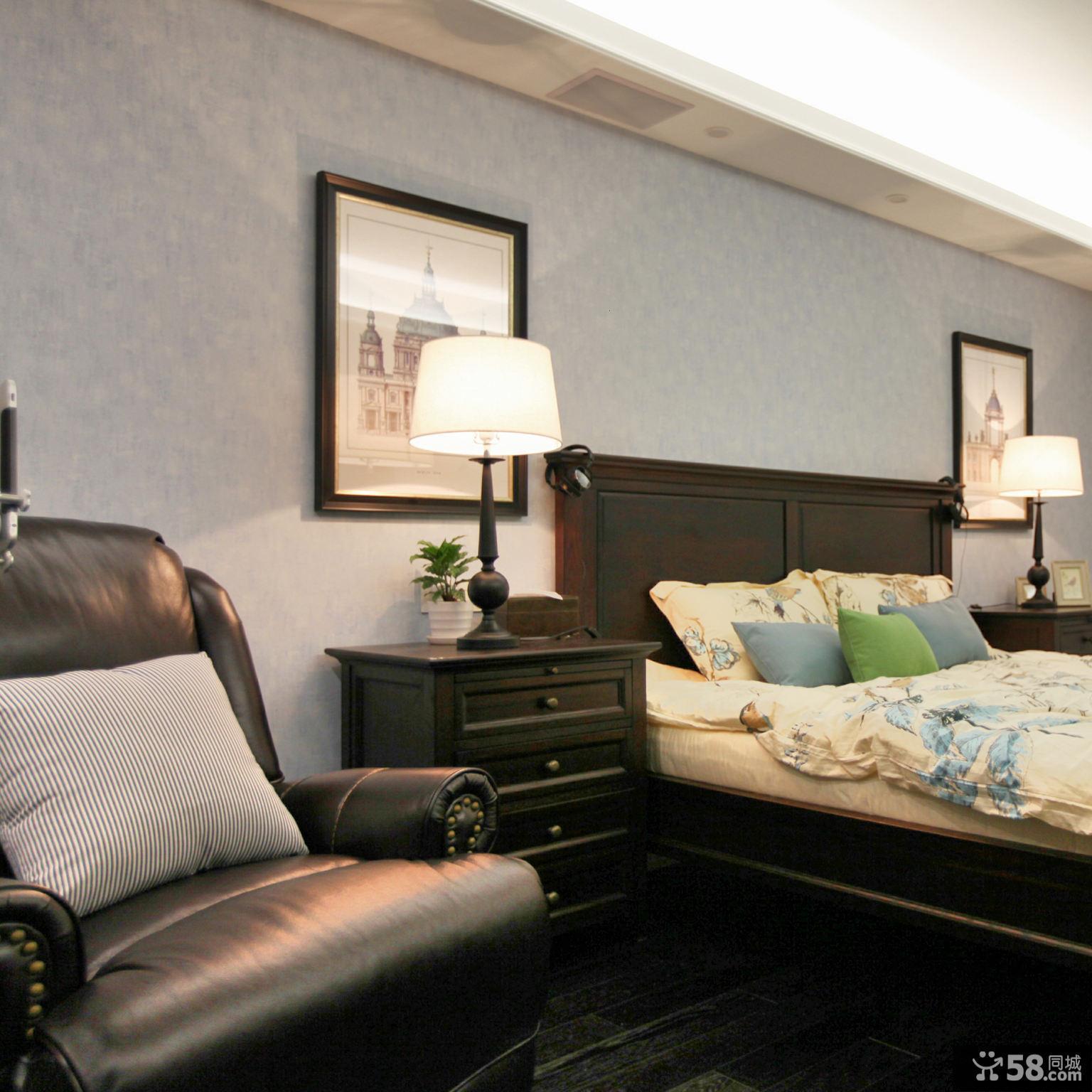 摩登美式卧室装修案例