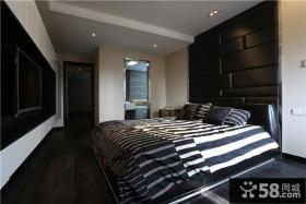 现代摩登艺术卧室装修案例
