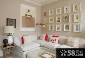 客厅装修效果图欣赏 简欧客厅效果图