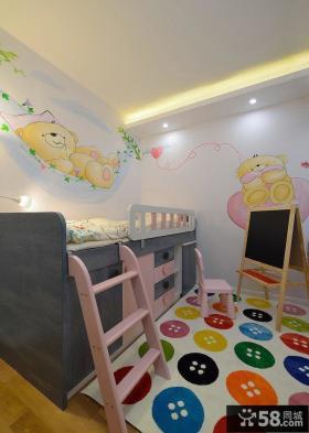 现代可爱缤纷儿童房装修大全
