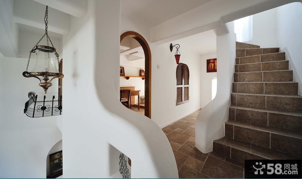 家庭型复式楼梯效果图