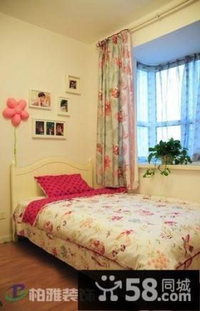 田园小户型卧室装修效果图片