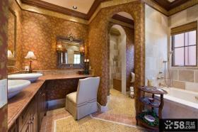 美式卫生间装修效果图欣赏