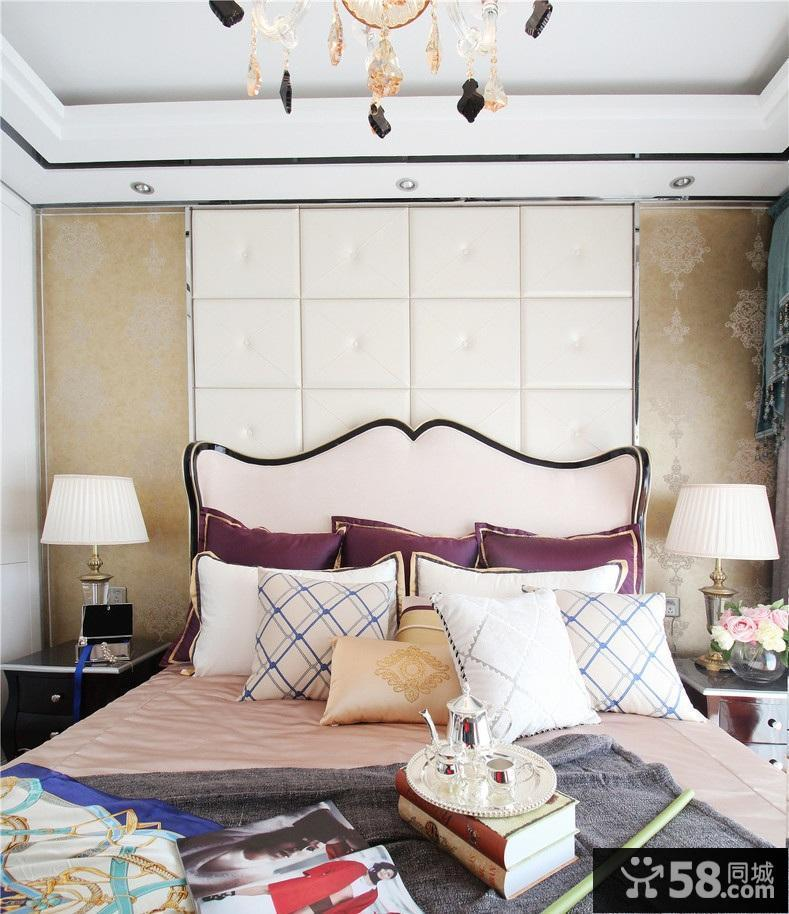 卧室墙纸条纹