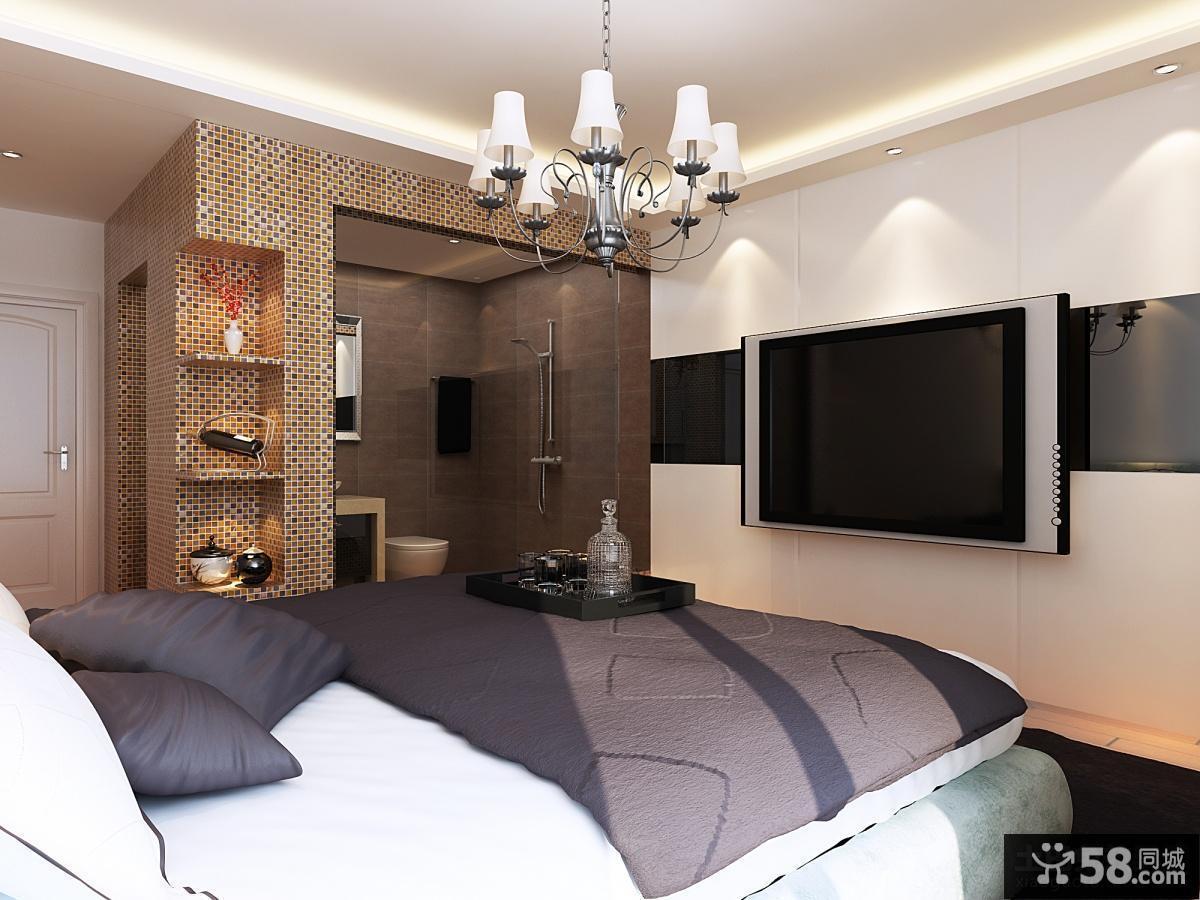 卧室电视背景墙装修效果图