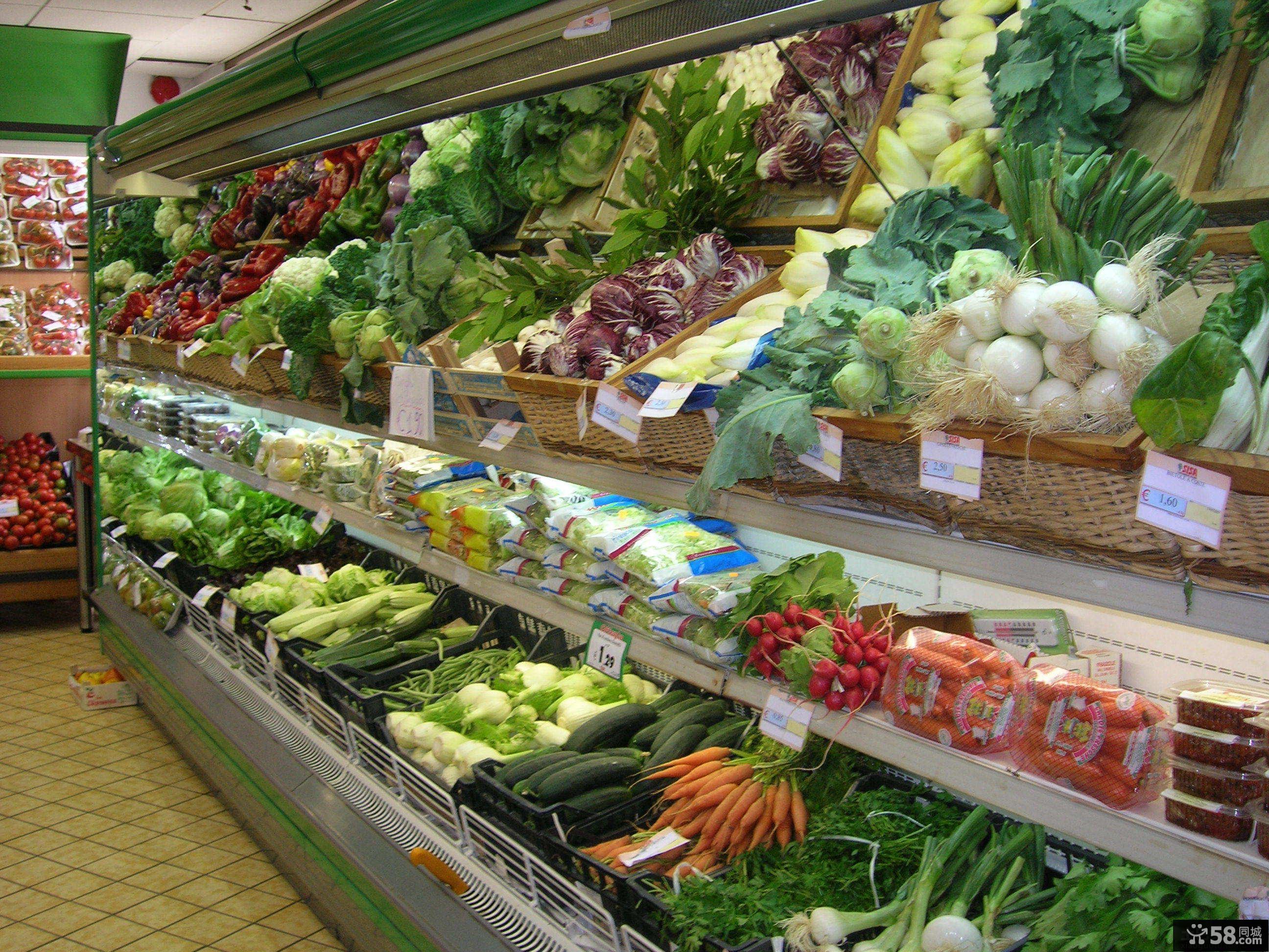 蔬菜超市设计图图片
