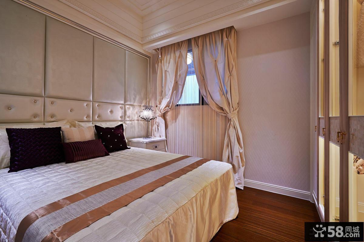 现代风格设计卧室装修图片