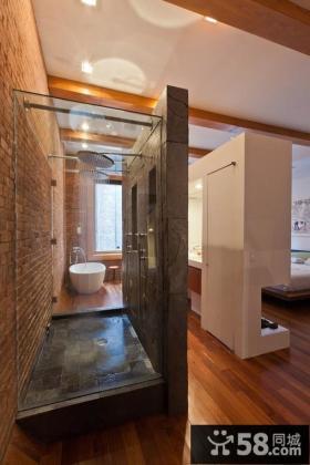 卫生间隔断墙效果图片